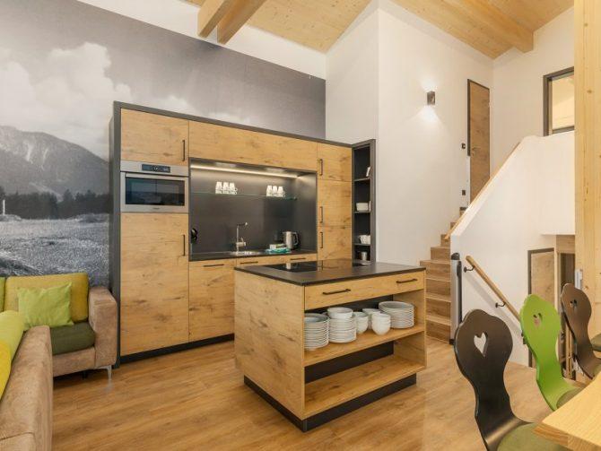 Villapparte-Center Parcs Allgau-Zuid-Duitsland-luxe vakantiehuis met sauna-8 personen-luxe keuken