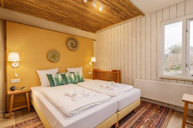 Villapparte-Center Parcs-Beach Villa-Luxe vakantiehuis voor 4 personen-Zandvoort-Noord-Holland-Knusse slaapkamer