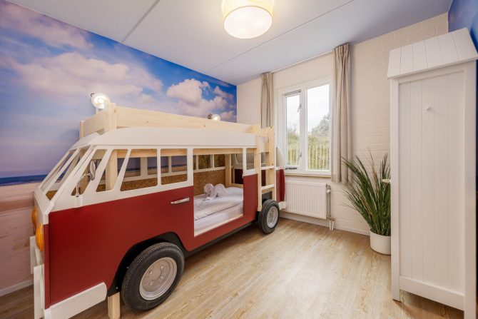 Villapparte-Center Parcs-Beach Villa-Luxe vakantiehuis voor 4 personen-Zandvoort-Noord-Holland-kinder slaapkamer