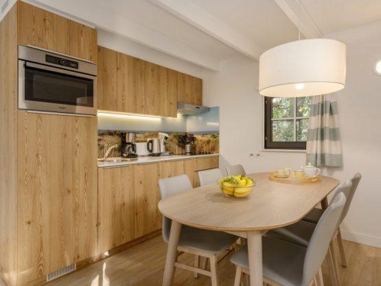 Villapparte-Center Parcs-Vip Cottage de Haan-6 personen-luxe vakantiehuis aan de Belgische kust-eethoek