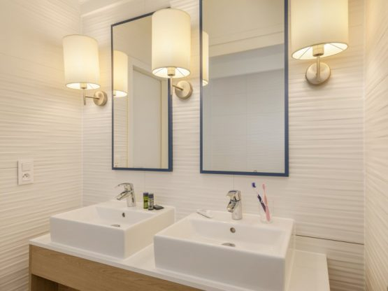 Villapparte-Center Parcs-Vip Cottage de Haan-6 personen-luxe vakantiehuis aan de Belgische kust-luxe badkamer