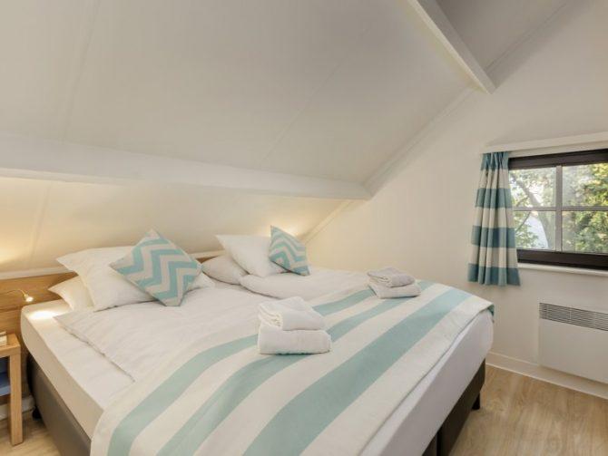 Villapparte-Center Parcs-Vip Cottage de Haan-6 personen-luxe vakantiehuis aan de Belgische kust-luxe slaapkamer