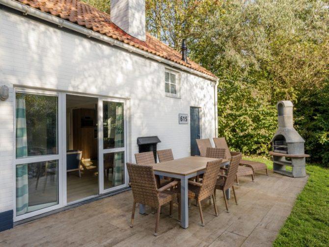 Villapparte-Center Parcs-Vip Cottage de Haan-6 personen-luxe vakantiehuis aan de Belgische kust-terras