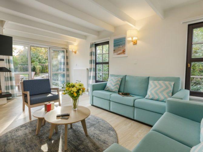 Villapparte-Center Parcs-Vip Cottage de Haan-6 personen-luxe vakantiehuis aan de Belgische kust-woonkamer
