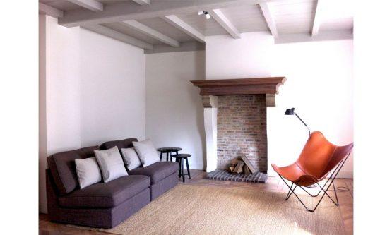 Villapparte-Natuurhuisje 29852-Historisch vakantiehuis in Loon op Zand-historisch kasteel-4 personen-gezellige woonkamer