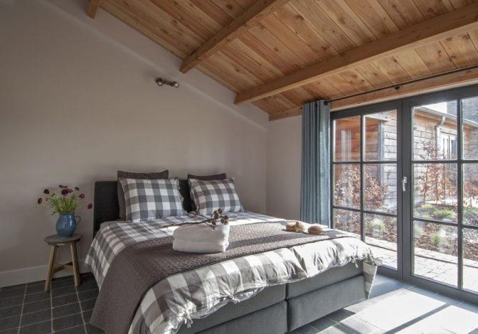 Villapparte-Natuurhuisje 31915-Vakantiehuis De Maasduinen in Afferden-Limburg-voor 6 personen-romantische slaapkamer