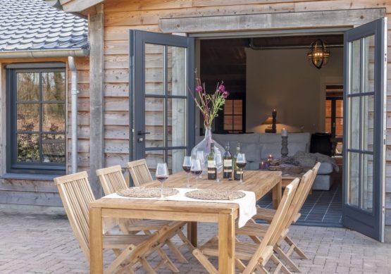 Villapparte-Natuurhuisje 31915-Vakantiehuis De Maasduinen in Afferden-Limburg-voor 6 personen-terras