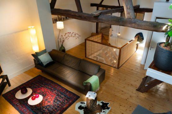 Villapparte-Natuurhuisje 33836-Landelijk vakantiehuis in Valkenburg-6 personen-Valkenburg-Limburg-gezellige woonkamer