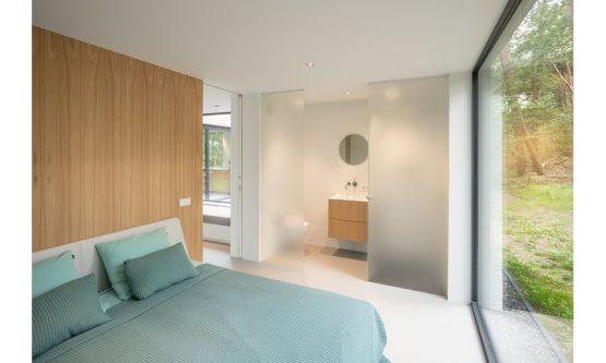 Villapparte-Natuurhuisje 45764-Moderne bosvilla in Tonden-Gelderland-romantische slaapkamer