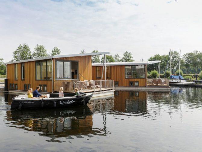 Villapparte-woonboot-de Eemhof-Zeewolde-6 personen