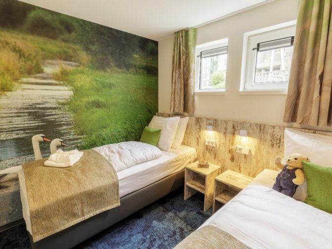 Villapparte-woonboot-de Eemhof-Zeewolde-6 personen-kinderslaapkamer