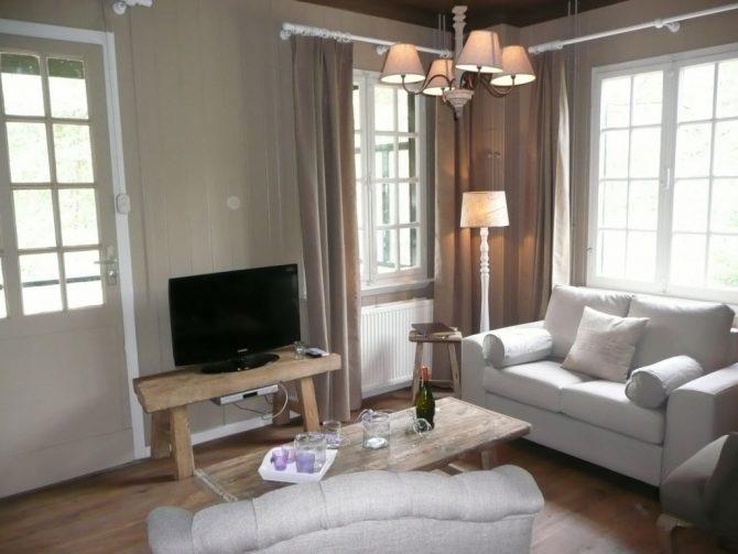 Villapparte-Chalet Coldenhove 4A-Landal-romantische bowachterswoning voor 4 personen-Eerbeek-Gelderland-gezellige woonkamer