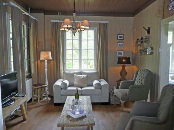 Villapparte-Chalet Coldenhove 4A-Landal-romantische bowachterswoning voor 4 personen-Eerbeek-Gelderland-romantische woonkamer