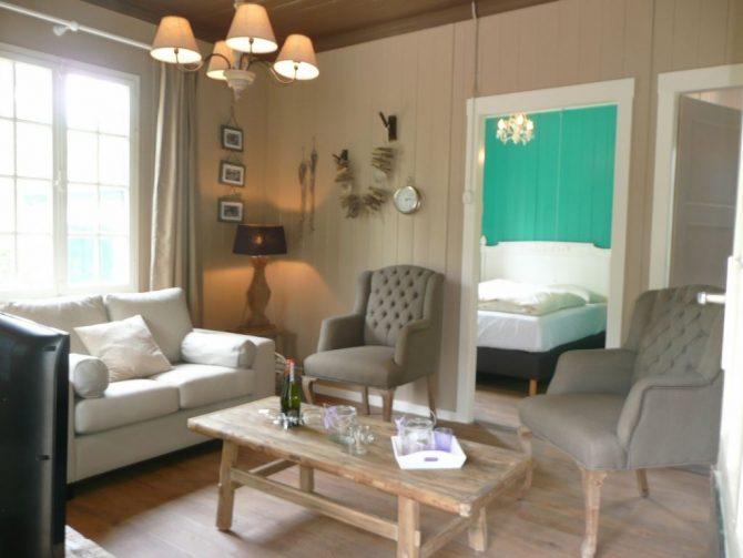 Villapparte-Chalet Coldenhove 4A-Landal-romantische bowachterswoning voor 4 personen-Eerbeek-Gelderland-woonkamer