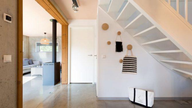 Villapparte-Duinlodge 6 Vlissingen-Roompot-Largo-Luxe vakantiehuis aan de duinen-6 personen-Vlissingen-Zeeland-doorkijk naar kachel