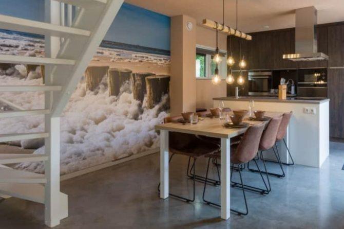 Villapparte-Duinlodge 6 Vlissingen-Roompot-Largo-Luxe vakantiehuis aan de duinen-6 personen-Vlissingen-Zeeland-luxe eethoek
