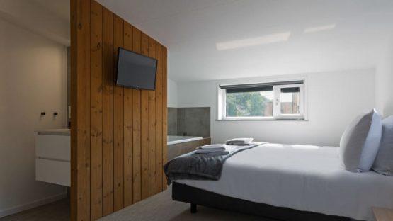 Villapparte-Duinlodge 6 Vlissingen-Roompot-Largo-Luxe vakantiehuis aan de duinen-6 personen-Vlissingen-Zeeland-luxe slaapkamer