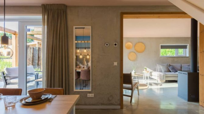 Villapparte-Duinlodge 6 Vlissingen-Roompot-Largo-Luxe vakantiehuis aan de duinen-6 personen-Vlissingen-Zeeland-luxe woonkamer