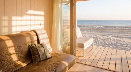 Villapparte-LARGO Noordzee Resort Vlissingen- Beach House Vlissingen-Roompot-Strandhuisje voor 5 personen-op het strand tegen de duinen
