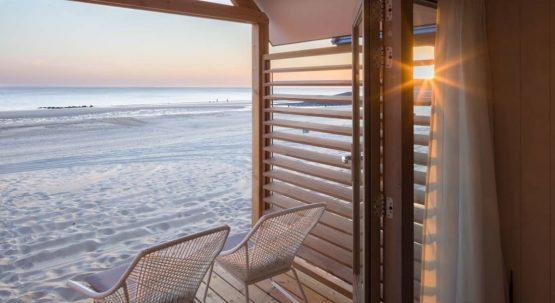 Villapparte-LARGO Noordzee Resort Vlissingen- Beach House Vlissingen-Roompot-Strandhuisje voor 5 personen-op het strand-uitzicht