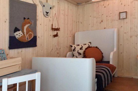 Villapparte-La Maison de Mar-romantisch vakantiehuisje voor 4 personen-Champagne streek-Frankrijk-gezellige kinder slaapkamer