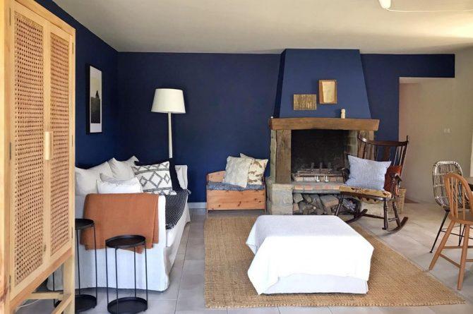 Villapparte-La Maison de Mar-romantisch vakantiehuisje voor 4 personen-Champagne streek-Frankrijk-romantische woonkamer