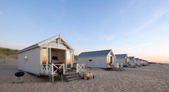 Villapparte-Largo Beach Houses Den Haag-Haagse Strandhuisjes-4 of 5 personen-uniek strandhuisje op het strand-Zuid-Holland-Den Haag