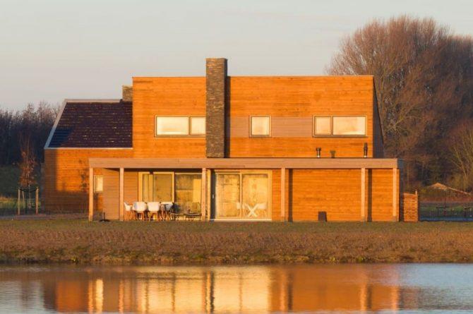 Villapparte-Largo Domein Het Camperveer-Watervilla Byron 6 luxe villa voor 6 personen-Uitzicht over water-Veerse Meer-Zeeland