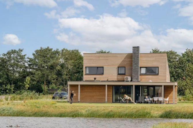Villapparte-Largo Domein Het Camperveer-Watervilla Byron 6 luxe villa voor 6 personen-Veerse Meer-Zeeland-veel privacy