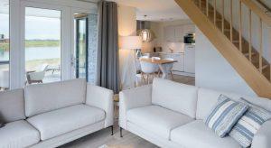 Villapparte-Largo Domein Het Camperveer-Watervilla Byron 6 luxe villa voor 6 personen-woonkamer-Veerse Meer-Zeeland