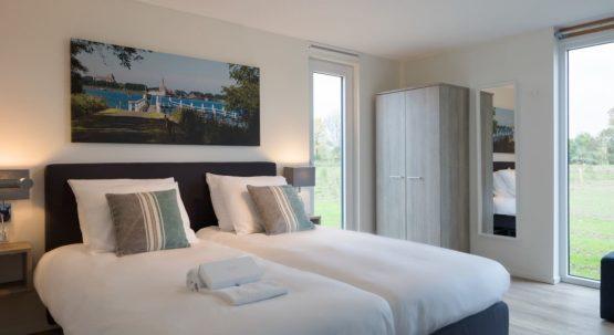 Villapparte-Watervilla Keats 8-Veerse Meer-Zeeland-luxe villa voor 8 personen-luxe slaapkamer
