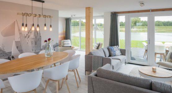 Villapparte-Watervilla Keats 8-Veerse Meer-Zeeland-luxe villa voor 8 personen-moderne woning