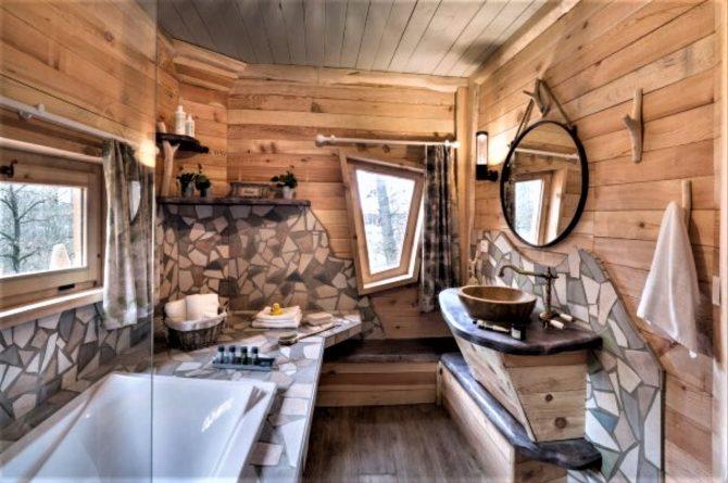 Villapparte-Center Parcs Bois aux Daims-Morton-Vienne-Frankrijk-Boomhuis voor 4 personen-luxe badkamer