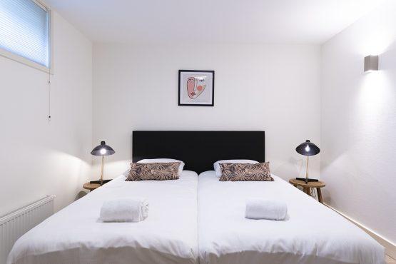 Villapparte-Dutchen-Vakantiepark Gooilanden-Suitelodge-6 personen-Loosdrechtse plassen-luxe slaapkamer