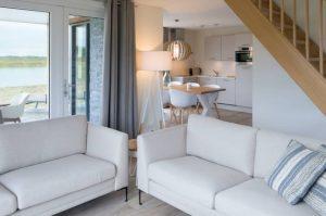 Villapparte-Largo Domein Het Camperveer-Watervilla Byron 6 luxe villa voor 6 personen-In het Middelpunt