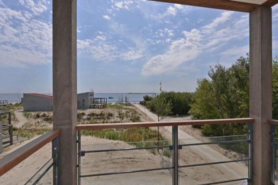 Villapparte-Oasis Punt West-Toren Villa- luxe vakantievilla voor 8 personen-Ouddorp-Zuid-Holland-terras met uitzicht
