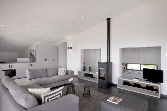 Villapparte-Oasis Punt-West-Villa Super VIP 4-luxe vakantie villa aan het Grevelingenmeer-Zuid-Holland-Nederland-luxe woonkamer