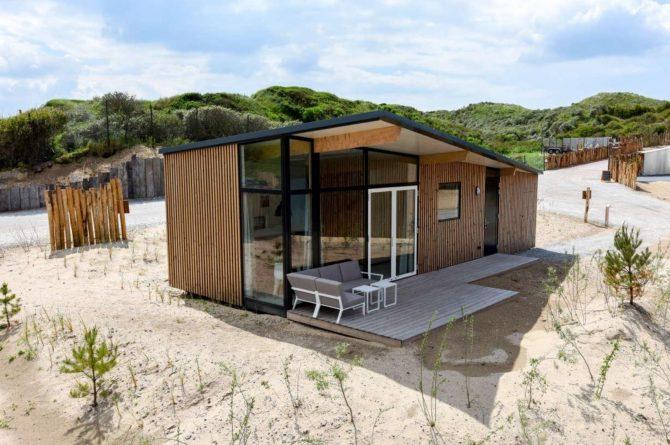 Villapparte-Qurios-Sea House Comfort-luxe lodge voor 4 personen-Bloemendaal aan zee-100 meter van het strand