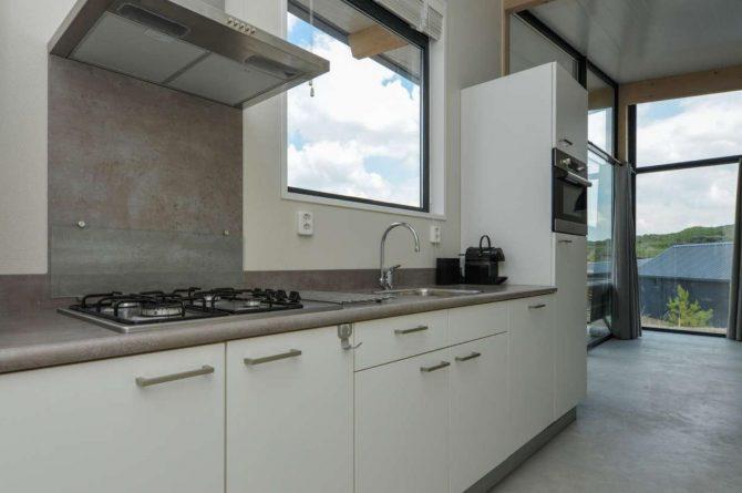 Villapparte-Qurios-Sea House Comfort-luxe lodge voor 4 personen-Bloemendaal aan zee-complete keuken