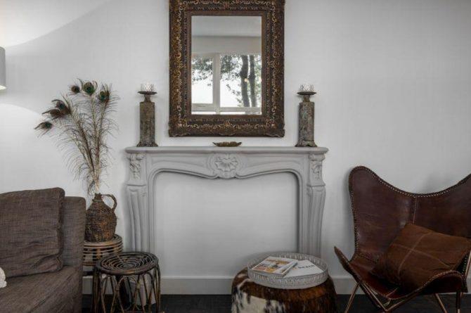 Villapparte-Vakantieboerderij Baarland-Zeeland-Baarland-Natuurhuisje-2 personen-sfeer woonkamer