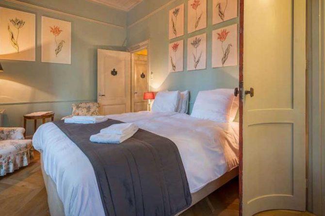 Villapparte-Logement aan de Vecht-Eliza was here-authentieke overnachting-kleinschalig-prachtige slaapkamer1