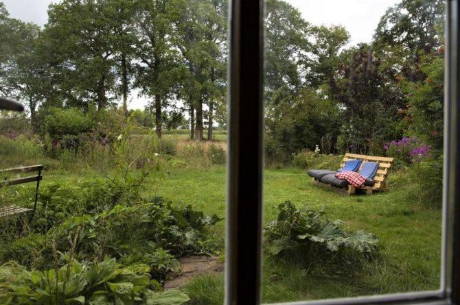 Villapparte-Natuurhuisje-Vakantiehuis Eik & Linde-knus vakantiehuis voor 2 personen-Gelderland-tuin