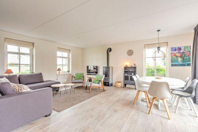 Villapparte-Belvilla-Vakantiehuis Groeneweg-Vakantiehuis voor 6 personen in Wissenkerke-Zeeland-lichte woonkamer