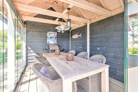 Villapparte-Belvilla-Vakantiehuis Groeneweg-Vakantiehuis voor 6 personen in Wissenkerke-Zeeland-overdekt en afsluitbaar terras