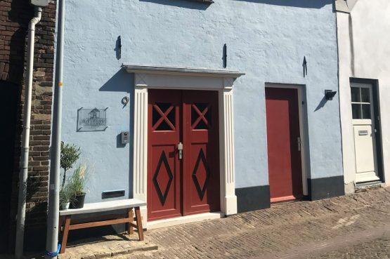 Villapparte-B&B in het Voorhuys-Doesburg-luxe appartement voor 2 personen