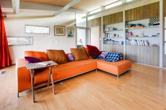 Villapparte-Belvilla-Vakantiehuis Gaastmeer-luxe watervilla voor 6 personen met sauna-Friesland-knusse woonkamer
