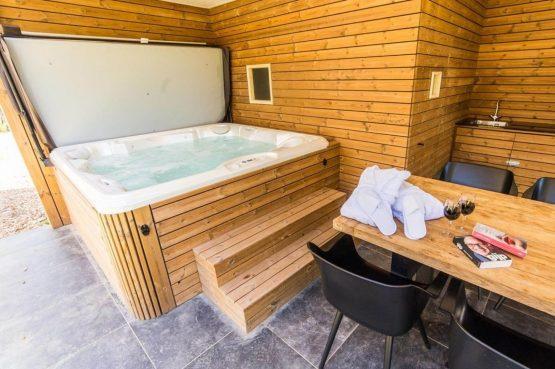Villapparte-Dormio Resort Maastricht-Hertogenvilla Wellness Waterkant-luxe vakantiehuis voor 6 personen-met jacuzzi en sauna-Maastricht-buiten wellness