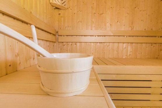 Villapparte-Dormio Resort Maastricht-Hertogenvilla Wellness Waterkant-luxe vakantiehuis voor 6 personen-met jacuzzi en sauna-Maastricht-sauna