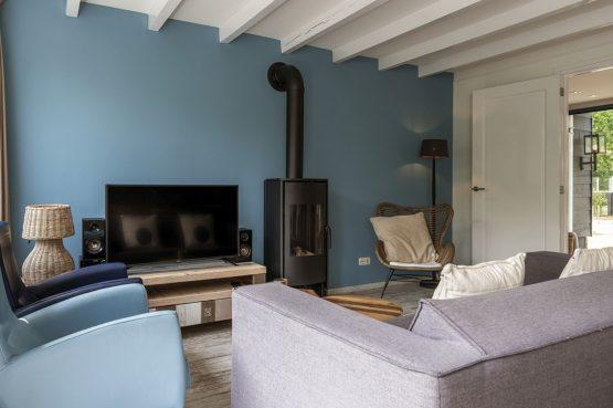 Villapparte-Dutchen-Villa Sun-luxe villa voor 6 personen-Ameland-tegen de duinrand-knusse zithoek