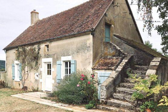 Villapparte-La Fermette du Merle-authentiek vakantiehuis voor 2 personen-Bourgogne-Frankrijk-knusse gite